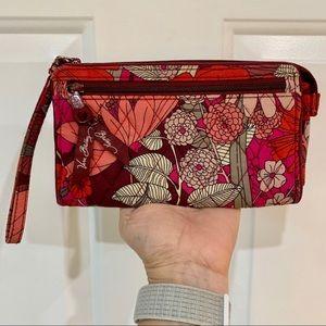 Vera Bradley Wristlet Wallet in Bohemian Blooms